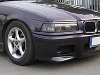 Накладки на фары BMW E36, реснички БМВ Е36 ABS