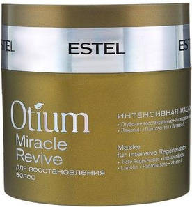 Интенсивная маска для восстановления волос OTIUM MIRACLE REVIVE ESTEL Professional, 300 мл.
