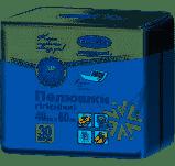 Гігієнічні пелюшки 40х60 №30 Білосніжка компактні