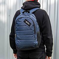 Рюкзак мужской городской спортивный синий, мужской рюкзак городской офф вайт, рюкзак мужской OFF-WHITE  blue