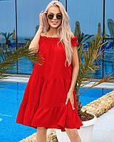 У25167 Женское летнее платье, фото 1
