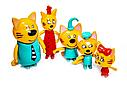 """Ігровий набір фігурок """"Три кота"""" PS653, фото 2"""