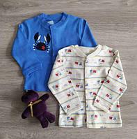 Кофта кардиган для новорожденных Полоски Краб Польша Для немовлят унісекс, фото 1