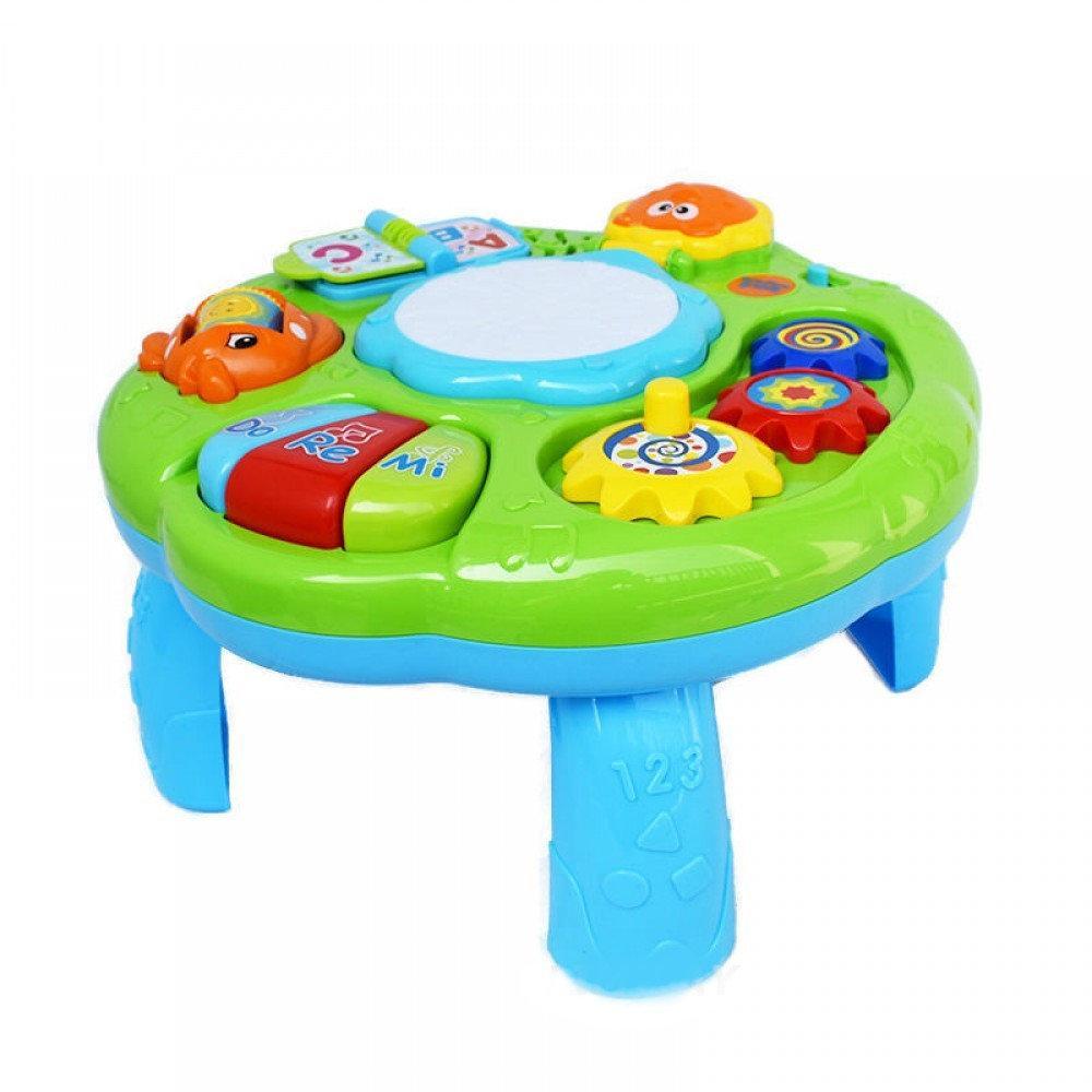 Детский музыкальный развивающий столик