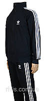 Спортивный костюм адидас,adidas ,три полосы,черный , классика,трикотажный ,размер 44,46,48,50, Турция.