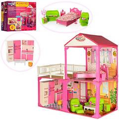 Кукольный домик Моя Любимая Вилла 2 этажа, 81-82-40,5см