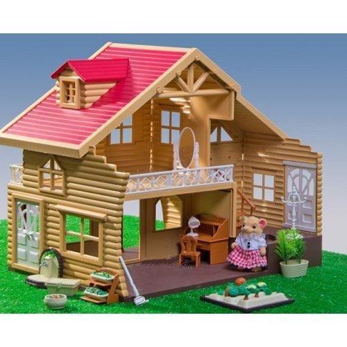 Лучший Домик Флоксовые Животные с мебелью и мишками