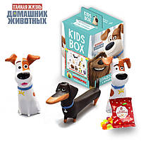 Kids Box  SweetBox Тайная жизнь  домашних Животных с двумя игрушками, фото 1