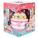 Дом для куклы Тортик с мебелью и куклами, фото 5