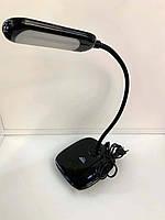 Настольная LED лампа 6W 4000К черная Bend Right Hausen (HN-245172)