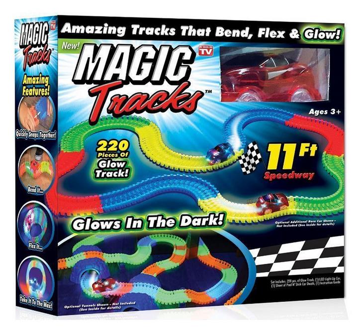 Гоночний трек Magic Tracks Меджік Трек - 220 деталей з гоночною машиною