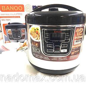 Мультиварка Banoo BN-7001 6 л 1500 Вт 12 программ с йогуртницей и хлебопечкой, фото 2