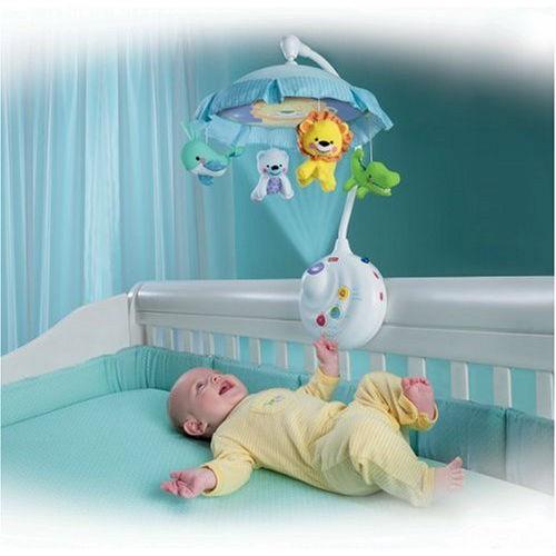 Погремушка на кроватку на радиоуправлении Умный малыш Play Smart 7180 Мобиль