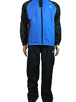 Спортивный костюм из плащевки для подростка-мальчика,юниора,р-р 38-44 адидас-9977 adidas черный