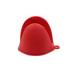 Прихватка силиконовая Cumenss AI-K001 Red перчатка-рукавица для горячего кухонная