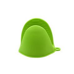 Прихватка силиконовая Cumenss AI-K001 Green перчатка-рукавица для горячего кухонная