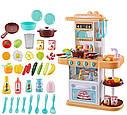 Кухня 889-153-154 38 предметів,вода, світло, звук, посуд, продукти, фото 2