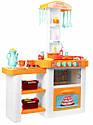 Інтерактивна велика кухня Кухня з посудом, продуктами, водою, звуком і світлом, фото 6
