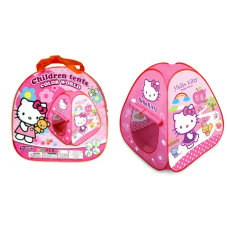 Намет дитячий Hello Kitty в сумці 88*88*88 см