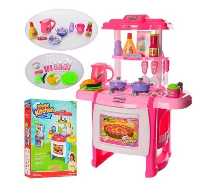 Детская кухня Interest kitchen с аксессуарами