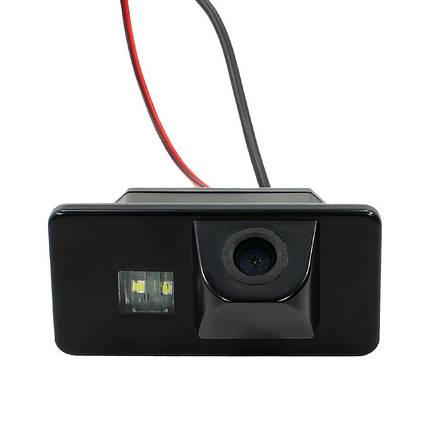 Автомобильная камера заднего вида Lesko для автомобилей BMW 5, 3, 1 для парковки, фото 2