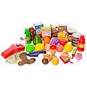 Детский набор супермаркет-магазин 008-911 с прилавком, кассой, сканером, фото 2