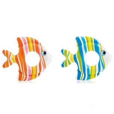 Круг надувной детский Тропические рыбки Intex 59223 81см