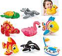 Іграшки дитячі надувні Intex 58590 4 види (ластівка, фламінго, риба, качка) від 2-х років, фото 2