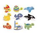 Іграшки дитячі надувні Intex 58590 4 види (ластівка, фламінго, риба, качка) від 2-х років, фото 3