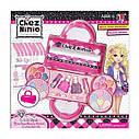 Набор детской косметики в сумочке 77001: лаки для ногтей, помады, тени, румяна, блестки, фото 2