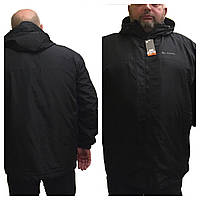Ветровка мужская большого размера 58-64,черная,коламбия,Columbia,вышивка