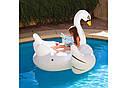Надувной плот Intex 56287 Белый лебедь 194х152x147см, фото 3