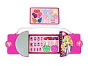 Набор детской косметики в сумочке 77007: лаки для ногтей, помады, тени, румяна, блестки, фото 4