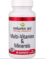 Natures Aid Daily Complete Multi-Vitamins & Minerals 90 caps