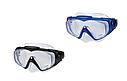 Маска для плавання Intex 55981 для дорослих 2 кольори чорна і синя, фото 3