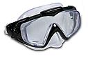 Маска для плавання Intex 55981 для дорослих 2 кольори чорна і синя, фото 5