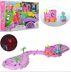 Детский игровой набор Паровоз Romantic Merry Пони 88362