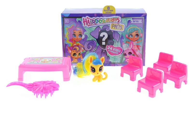 Детский игровой набор-сюрприз Hairdorables: Домашние любимцы