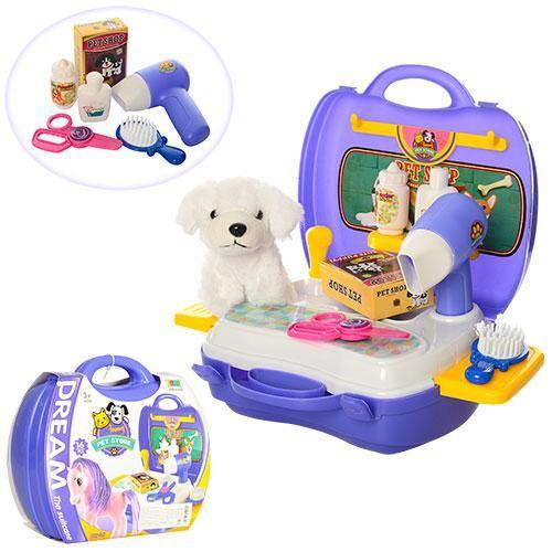 Дитячий ігровий набір Салон для тварин два види