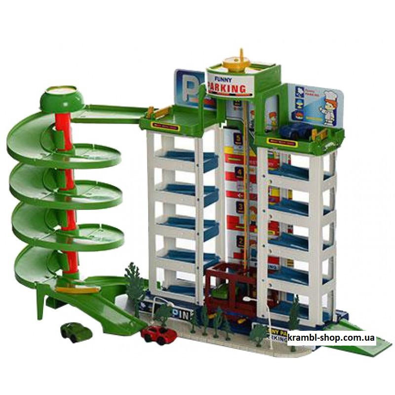 Детский Гараж Мега Парковка 922, 6 этажей