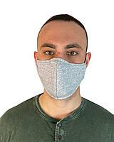 Маска защитная серая на лицо,маска  для рта и носа. . Маска на лицо Пушка Огонь Токсичный 2