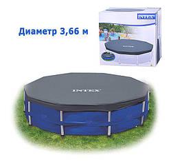 Тент для каркасного бассейна Intex 28031 366 см