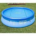 Тент-чохол з обігрівати ефектом Intex 29022 для басейнів діаметром 366 см, фото 3