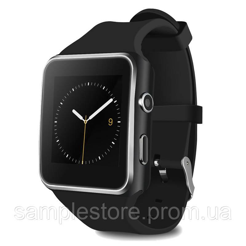 Цифровые, электронные Смарт-часы Smart Watch X6 (Black)