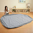 Надувная двуспальная кровать Intex 64414 Comfort Plush 203x152x46см, фото 4