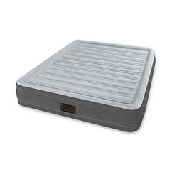 Надувная двуспальная кровать Intex 67770 Comfort Plush Mid Rise Airbed 203x152x33см
