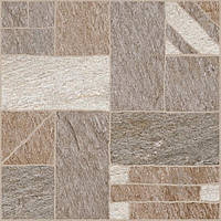 Плитка Golden Tile Misto Mattone коричневый 3F7830 40x40