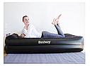 Надувная односпальная кровать со встроенным электронасосом Bestway 67381 191х97х46 см, фото 6