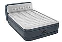 Надувная двуспальная кровать со спинкой Intex 64448 152х236х86см, фото 2