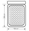 Надувная двуспальная кровать со спинкой Intex 64448 152х236х86см, фото 3